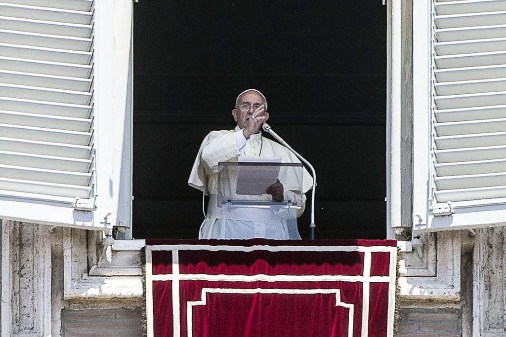 El Papa agradece apoyo encuentro con israelíes y palestinos