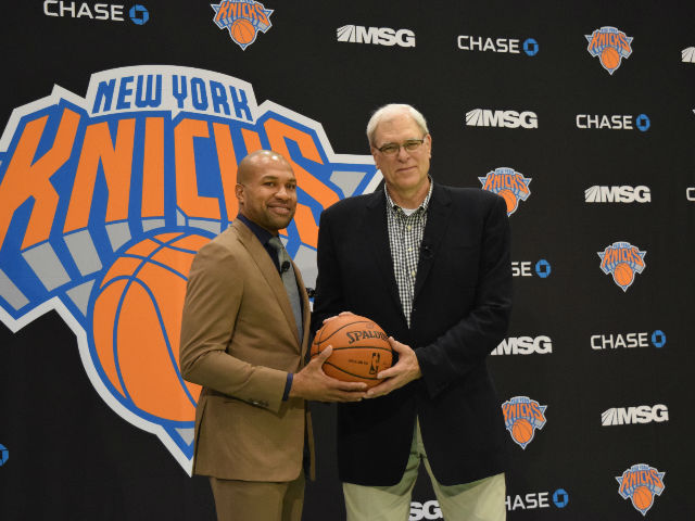 Presentan a Derek Fisher como nuevo entrenador de los Knicks