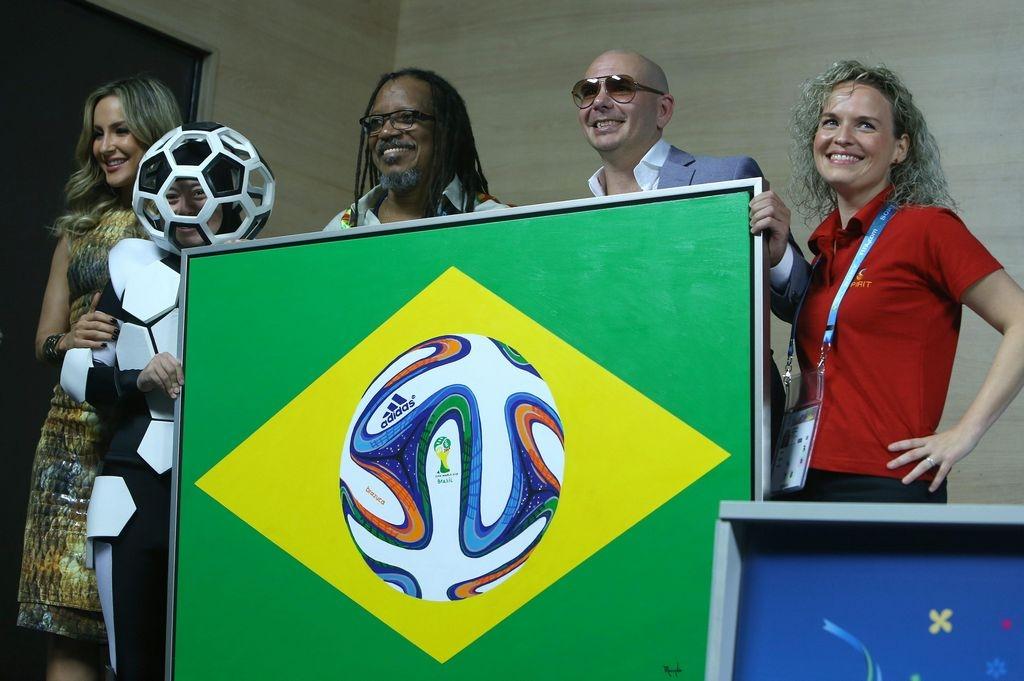 """Ceremonia para honrar los """"tres tesoros"""" de Brasil"""