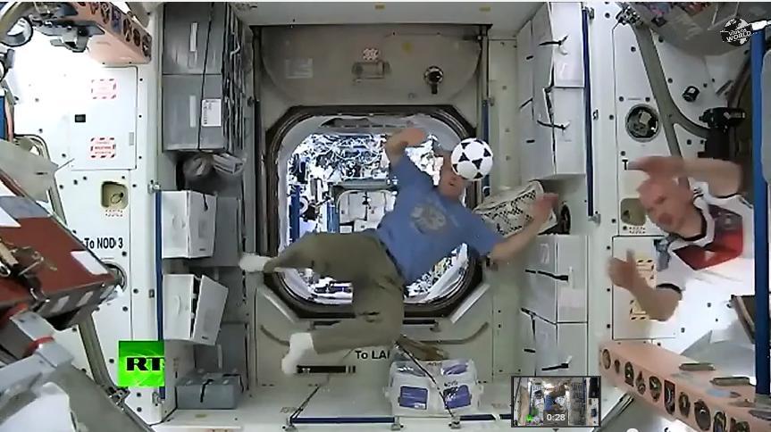 Astronautas seguirán el Mundial desde la EEI (video)