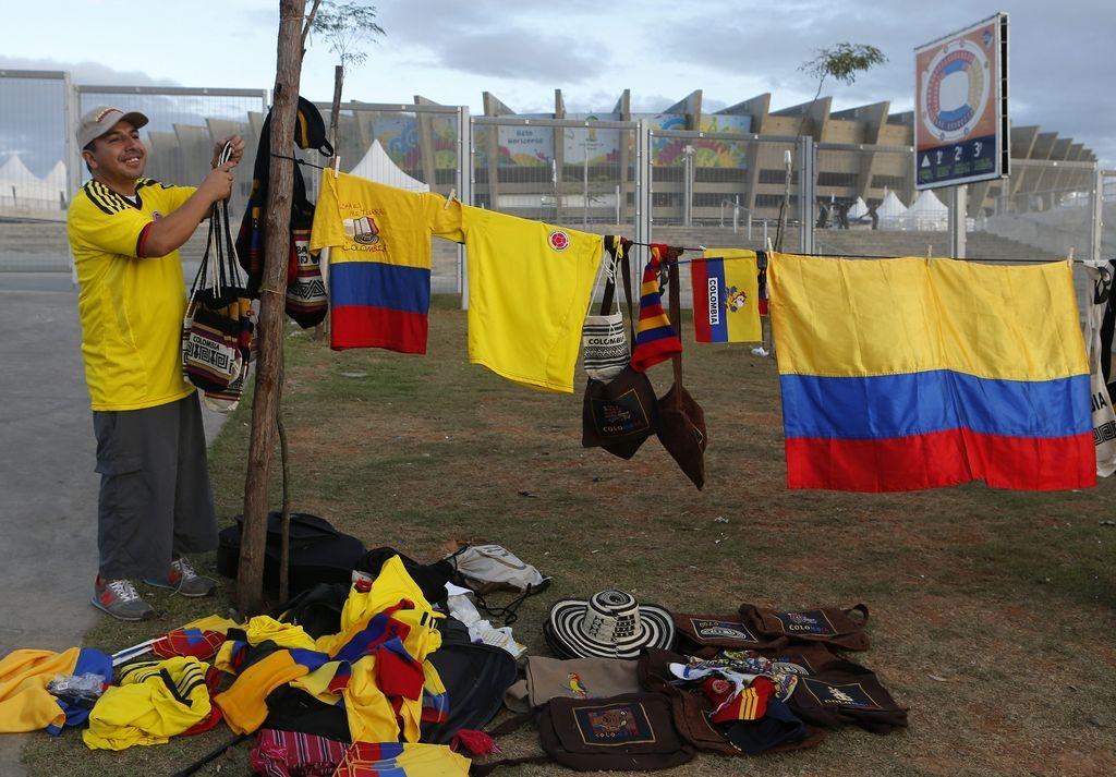 Colombia entra en acción ante Grecia