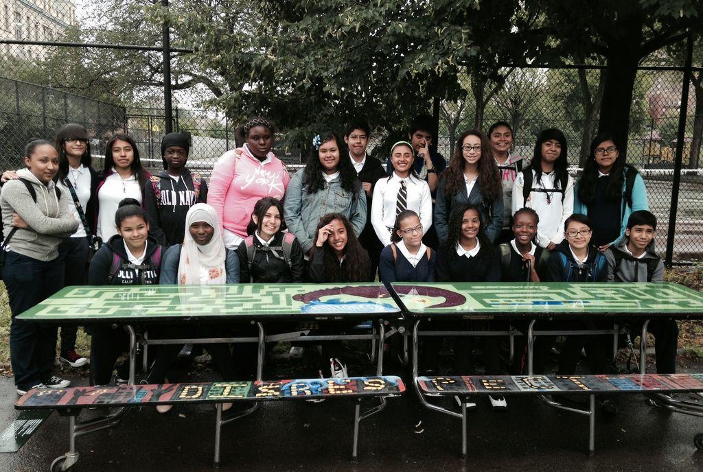 Estudiantes de El Bronx hablan a través del arte