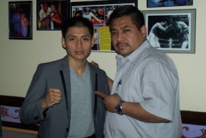 Padre e hijo: grandes luchadores en la vida y en el ring