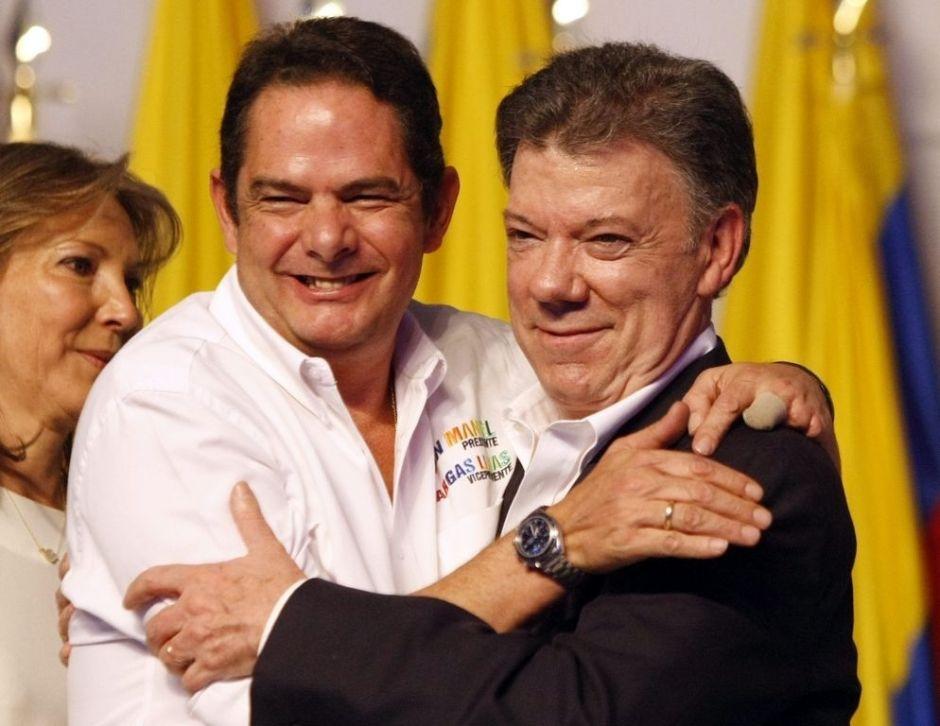 Líderes mundiales aplauden reelección de Santos en Colombia