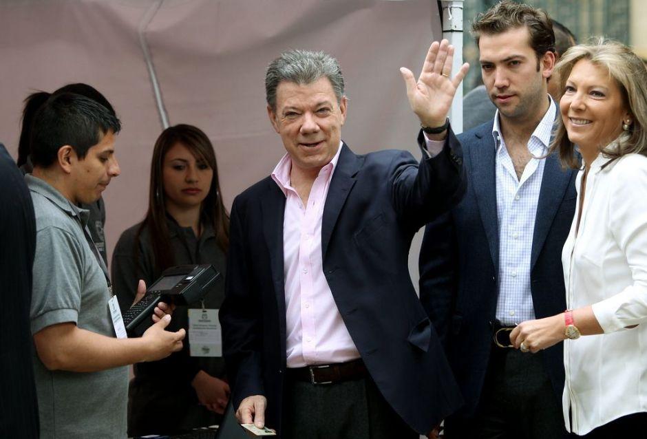 Consideran reelección de Santos un plebiscito por la paz