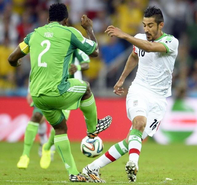 Nigeria e Irán, primer empate sin goles