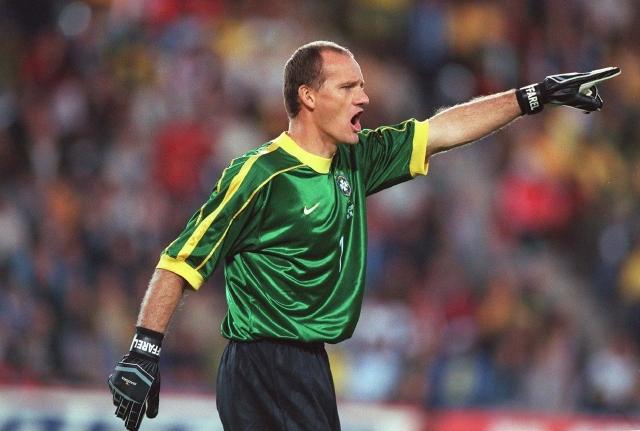 Claudio Taffarel ayudó a Brasil a llegar a dos finales de copa del mundo y a ganar una de ellas en 1994.