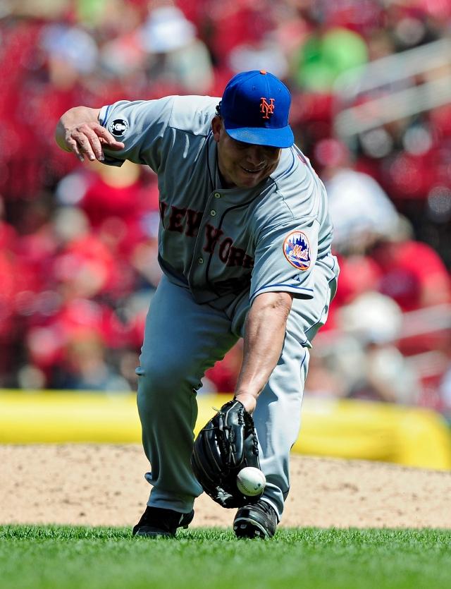 El dominicano Bartolo Colón logró ayer la séptima victoria de la campaña con los Mets.