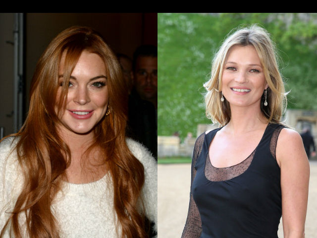 Tremendo conflicto entre Lindsay Lohan y Kate Moss en un Antro