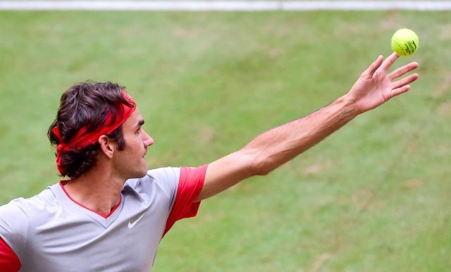 Federer listo para el torneo londinense