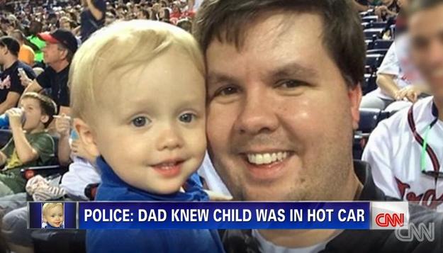 Arrestan a padre que dejó morir a bebé sofocado en auto