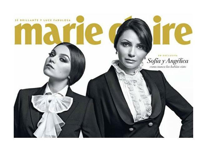 Angélica Rivera y su hija, juntas en portada de revista