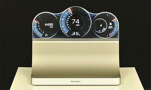 Sharp quiere revolucionar la electrónica automotriz