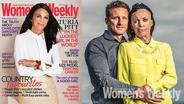 Esta portada de revista no es una que ves todos los días…