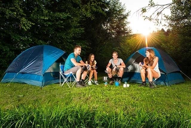 Camping trip: the weekender