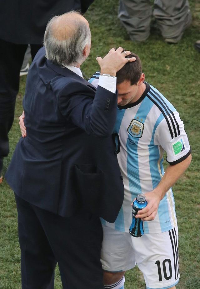 Aparece Messi en el momento indicado