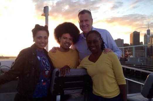 Alcalde De Blasio se va a Italia de vacaciones con su familia