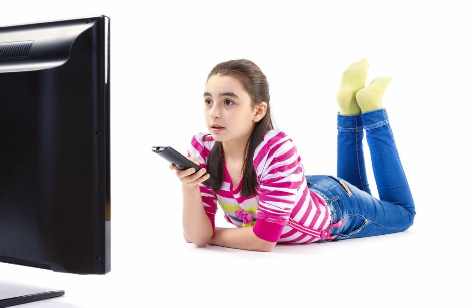 Niños en EEUU son adictos a la TV