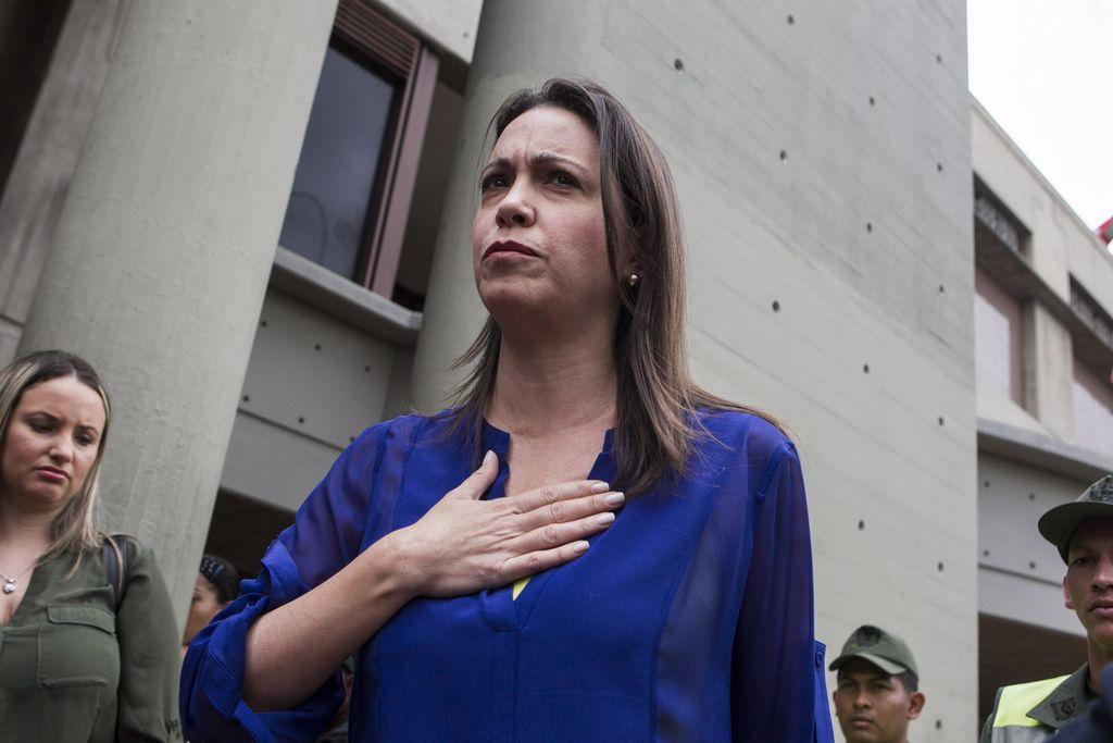 Venezuela imputa a exdiputada Machado por instigación