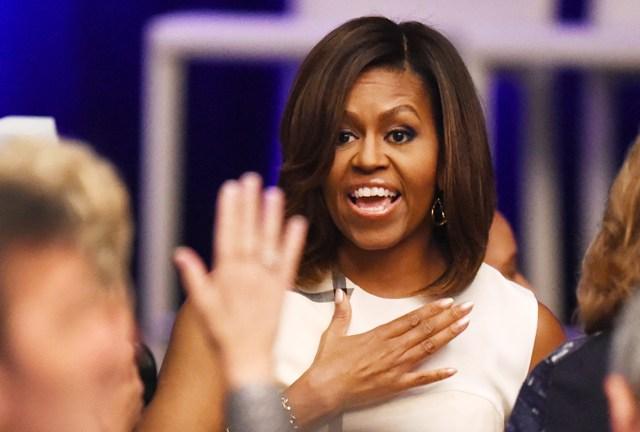 ¡Que vivan los rizos! Michelle Obama se muestra con su pelo al natural