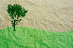 Reciclar papel está de moda