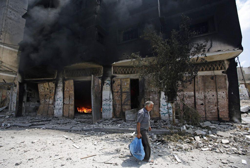 Ataques israelíes en Gaza dejan 50 muertos y más de 200 heridos