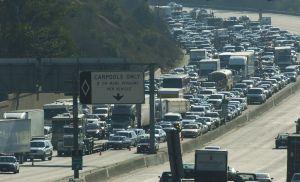 California: carreteras saturadas y el límite de la paciencia