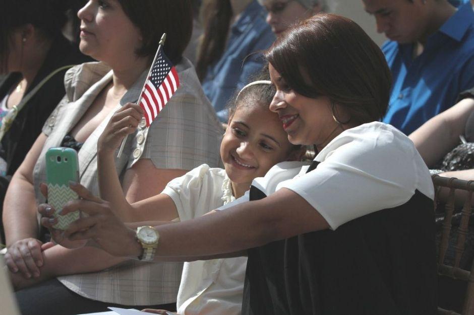 Ceremonia de ciudadanía histórica en el Met (fotos)