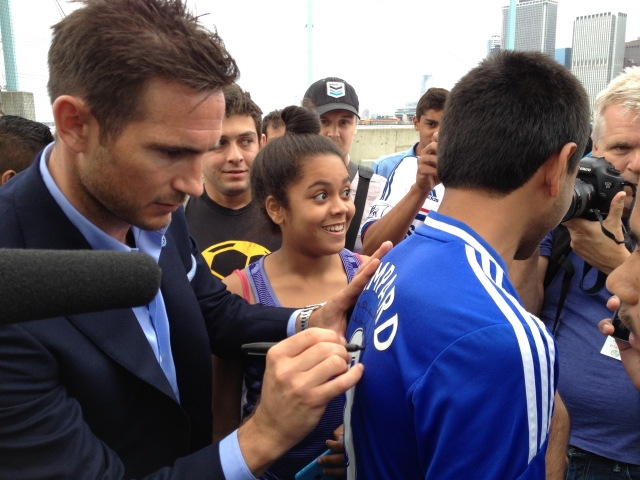 Frank Lampard llega con su clase al NYCFC