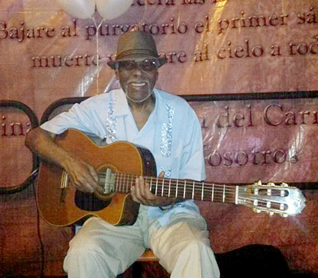 Rufino Ortiz    leyenda viviente de la música