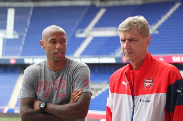 'Tití' Henry en contra del Arsenal de sus amores