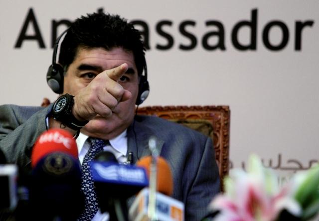 Maradona pide a Menotti para dirigir a la Argentina