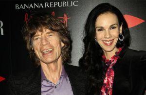 Mick Jagger se refugia en sus nietos