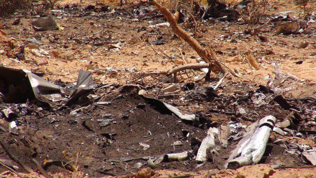 Difícil la identificación de víctimas del vuelo AH 5017