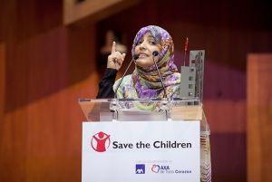 Tawakkul Karman, una activista universal