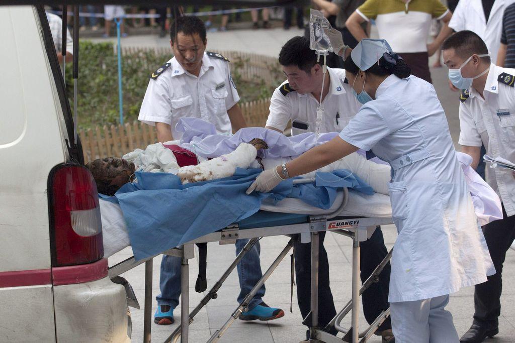 Más de 70 muertos tras explosión en fábrica china