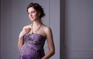Bella durante el embarazo