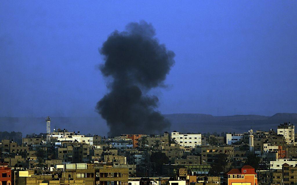 Israel y palestinos aceptan tregua de 72 horas