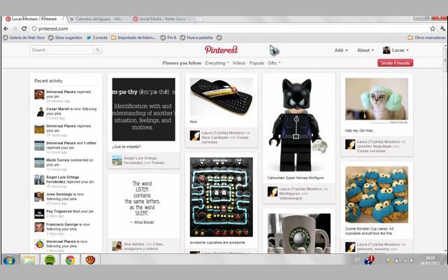 Pinterest lanza nueva función de mensajería