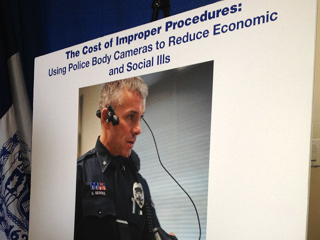 Cámaras portátiles para NYPD costarían $32 millones