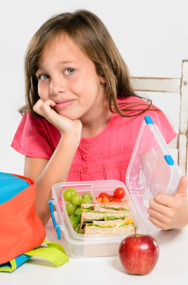 Comida saludable para la escuela