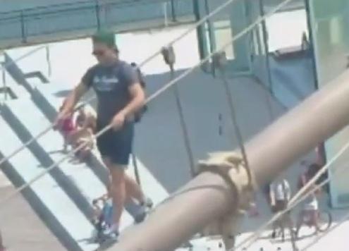 Vuelven a burlar la seguridad en el Puente de Brooklyn (video)
