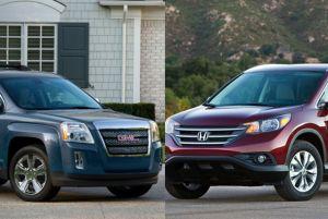 Honda CR-V 2014 vs. GMC Terrain 2014: ¿cuál comprar?