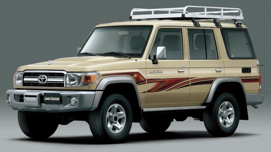 Producción de la serie 70 de Land Cruiser Toyota regresará a Japón