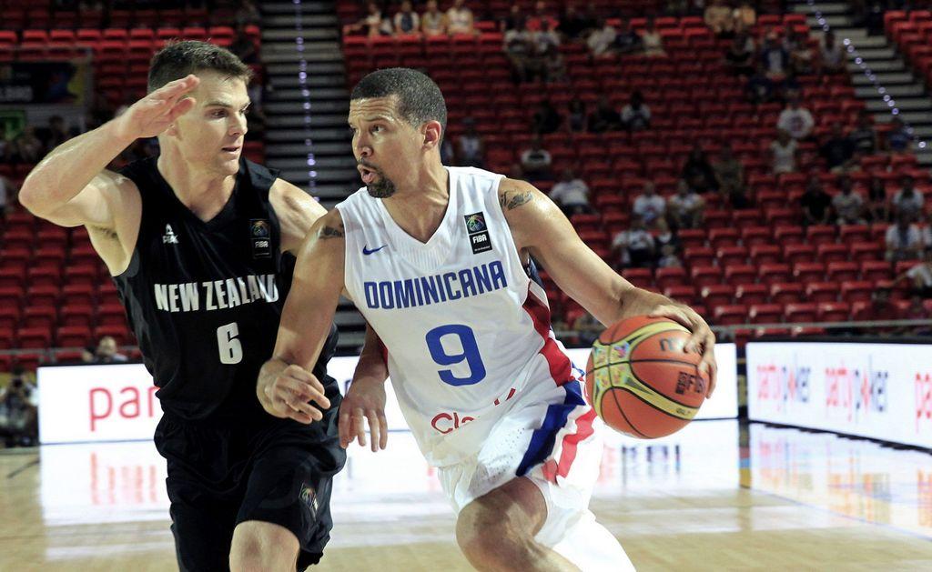 Dominicana se impone a los 'Kiwis' en Mundial de Baloncesto
