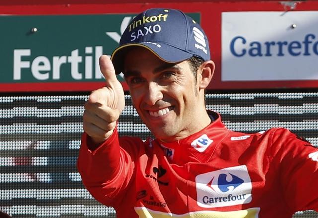 Contador se apodera del liderato
