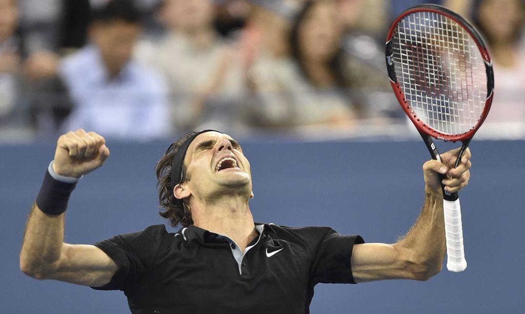 Federer remonta y se mete en la semifinal del US Open