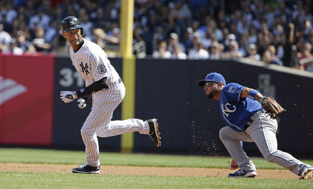 Los Reales empañan el 'Día de Jeter' y blanquean a Yankees