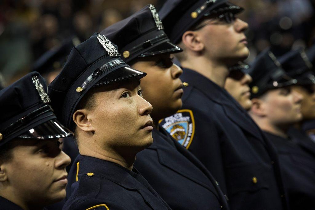 Las filas del NYPD son tan diversas como la ciudad