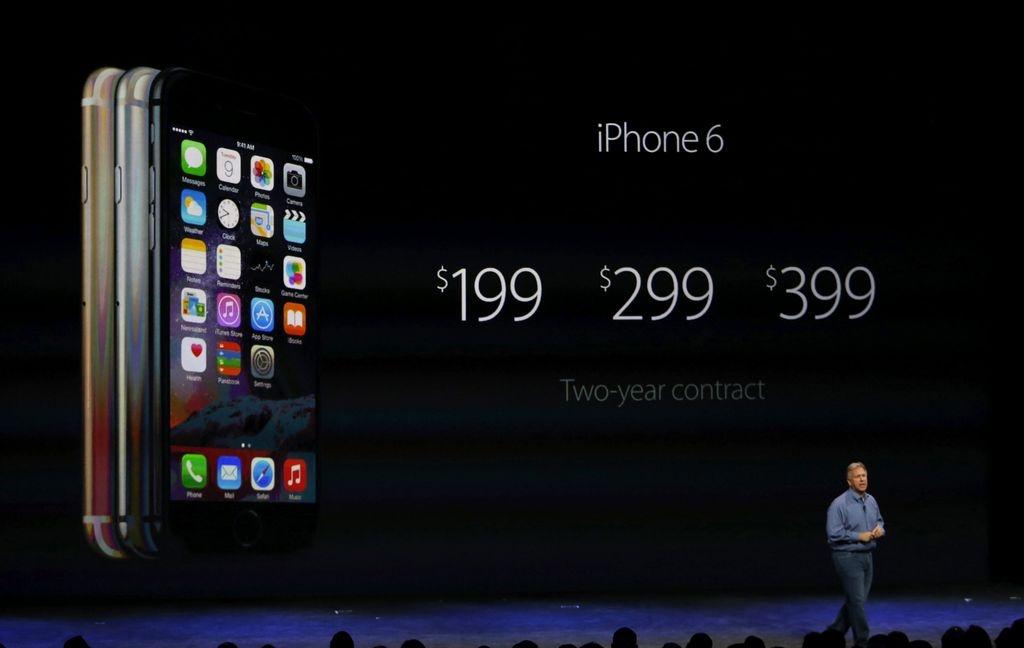 Apple presume sus nuevos iPhone 6 y su primer reloj inteligente (video y fotos)